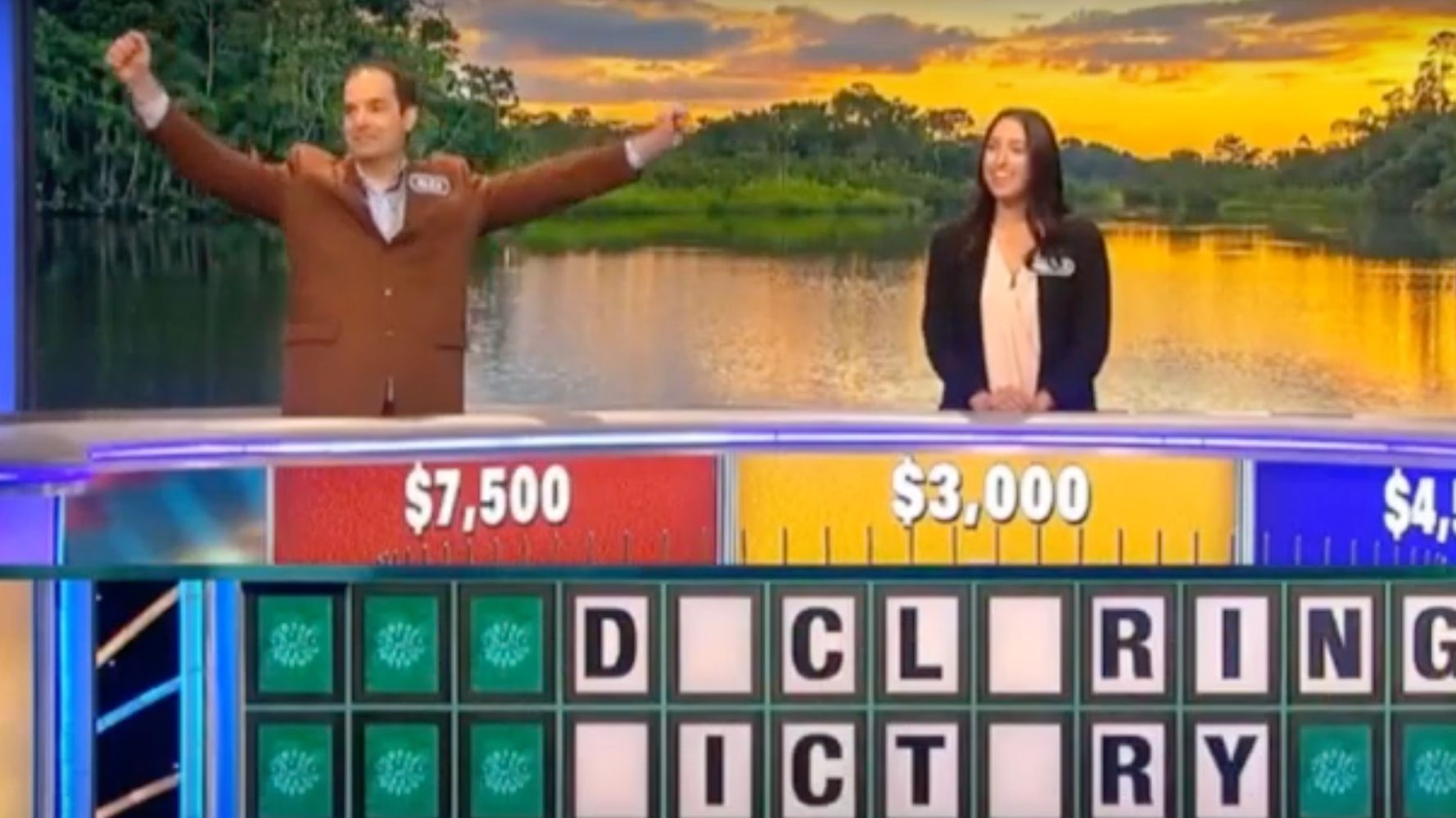 'Wheel Of Fortune' Contestant Stunningly Fails At 'Declaring Victory'