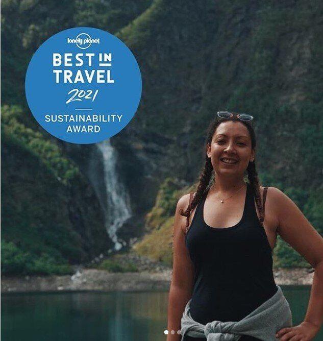 Ως Αφηγήτρια Ιστοριών στην κατηγορία Βιωσιμότητα βραβεύεται η ταξιδιωτική μπλόγκερ Σοράγια Αμπντέλ Χαντί