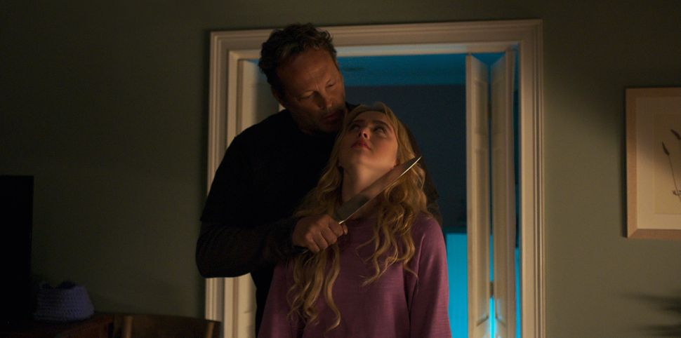 "Vince Vaughn and Kathryn Newton in ""Freaky."""