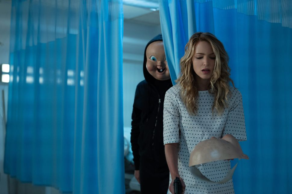 "Jessica Rothe in ""Happy Death Day 2U."""