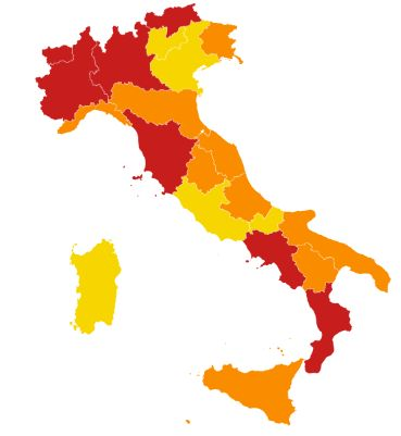 Italia in tre