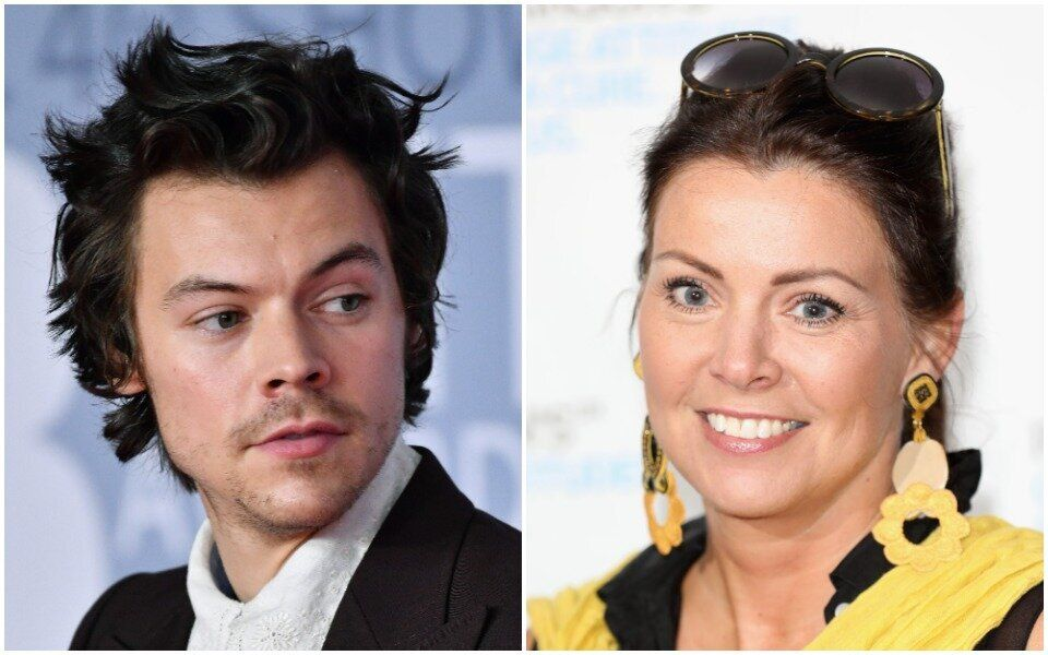 Harry Styles' Mom On Son's Vogue Cover: 'Who Doesn't Love Playing Dress-Up?'