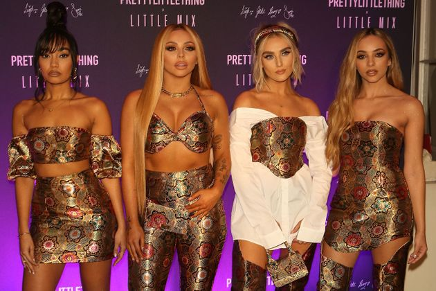 Little Mix at the launch of their Pretty Little Thing collection last year