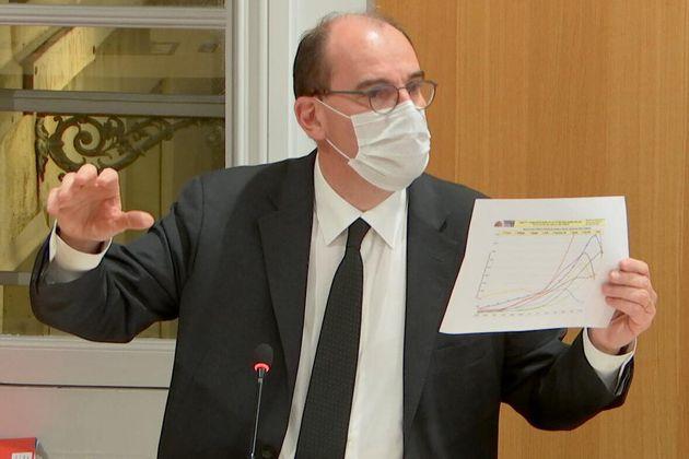 Le Premier ministre Jean Castex devant la commission d'enquête sur le Covid-19 à l'Assemblée