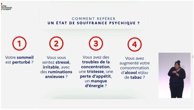 Le gouvernement alerte sur la santé mentale des Français pendant ce deuxième
