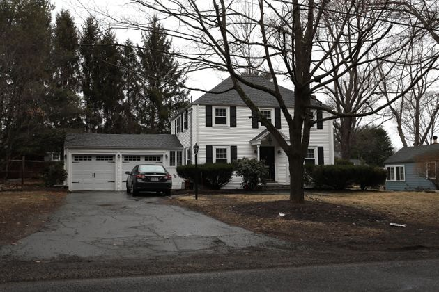 Brand's former house in Needham, Massachusetts, pictured, was purchased by Jack Zhao in 2016 for...