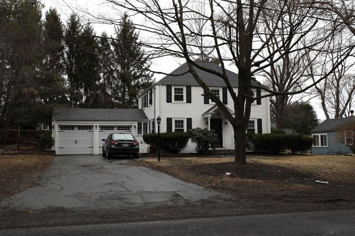 Brand's former house in Needham, Massachusetts, pictured, was purchased by JackZhao in 2016 for hundreds of thousands o
