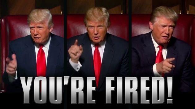 La frase célebre de Trump en su 'reality':