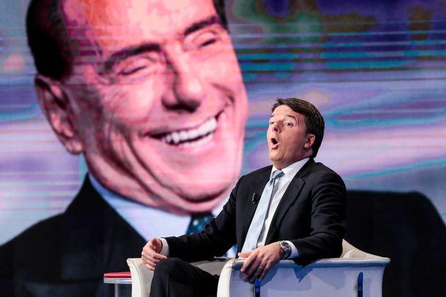 21/11/2017 Roma, Rai 1, trasmissione televisiva Porta a Porta, nella foto il segretario del PD Matteo...