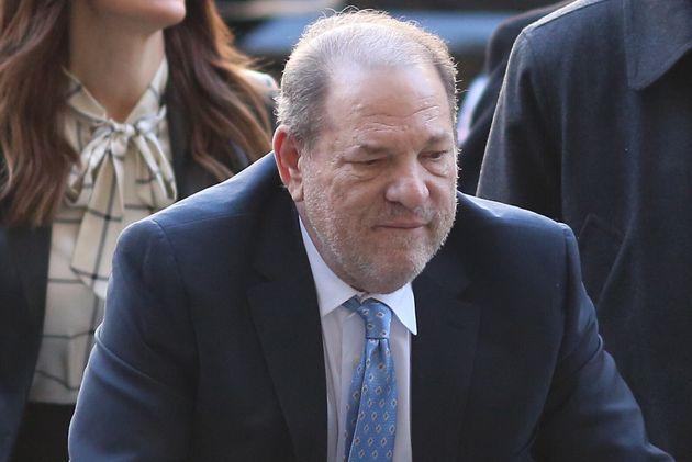 Harvey Weinstein a su entrada a los juzgados el pasado mes de