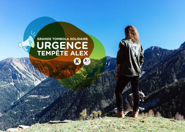 Julien Doré met en place une tombola pour aider les sinistrés de la tempête Alex dans les Alpes