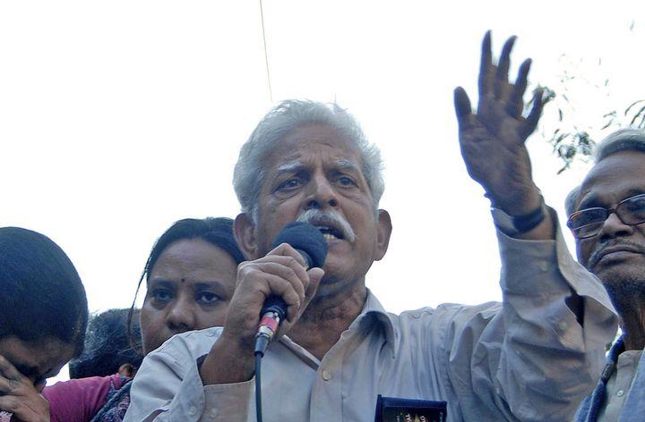 Varavara Rao in Kolkata on November 25, 2011