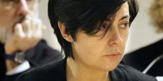 Rosario Porto, durante el juicio por la muerte de su hija Asunta