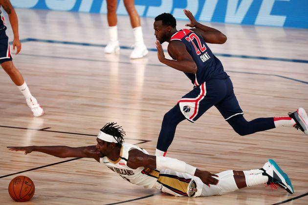 Un match de la NBA opposant les