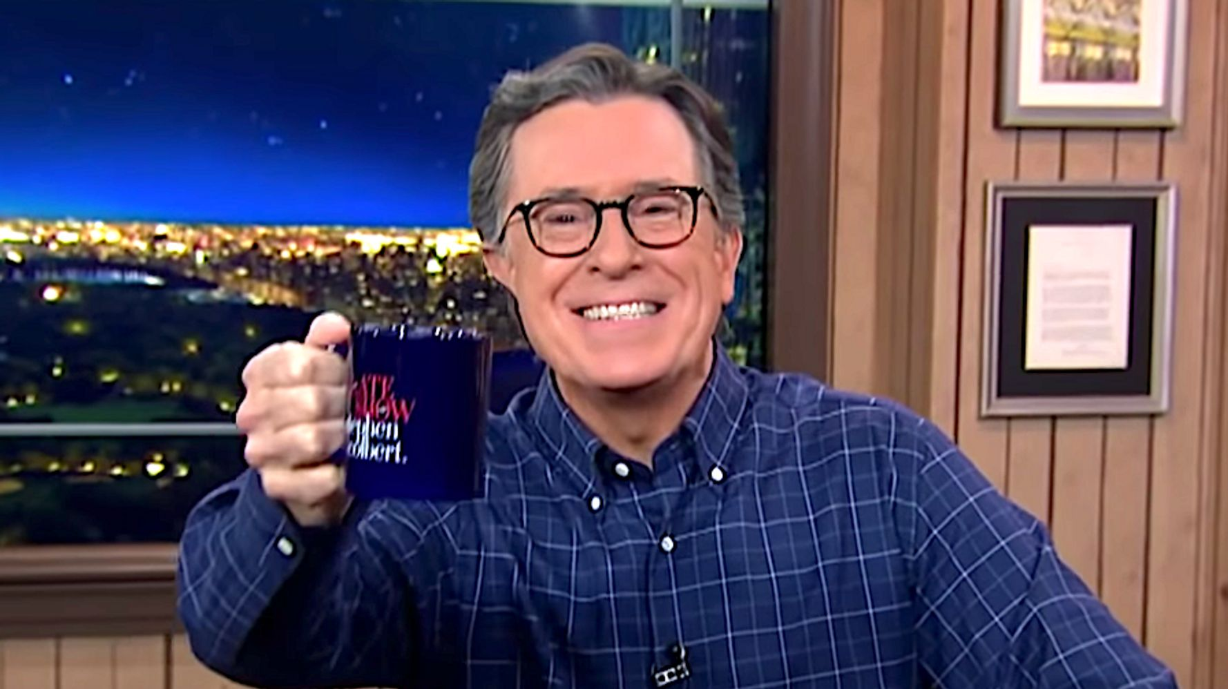 Stephen Colbert Savagely Compares Donald Trump's Term To Mortifying School Moments