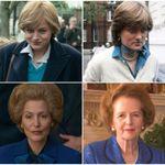 'The Crown': Como Gillian Anderson e Emma Corrin foram transformadas em Thatcher e