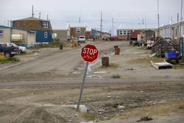 A community is seen here in Rankin Inlet, Nunavut, in July 2019. There were four active coronavirus cases...