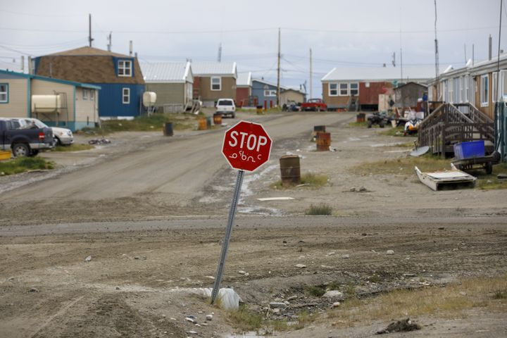 A community is seen here in Rankin Inlet, Nunavut, in July 2019. There were four active coronavirus cases in the area as of Wednesday morning.