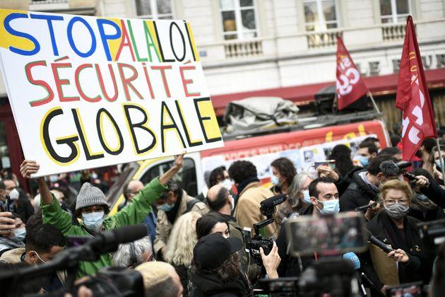 La manifestation parisienne contre le projet de loi sur la