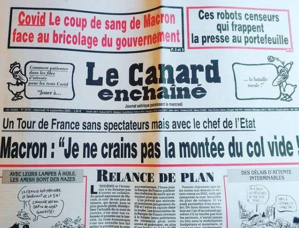 Le journal papier du Canard