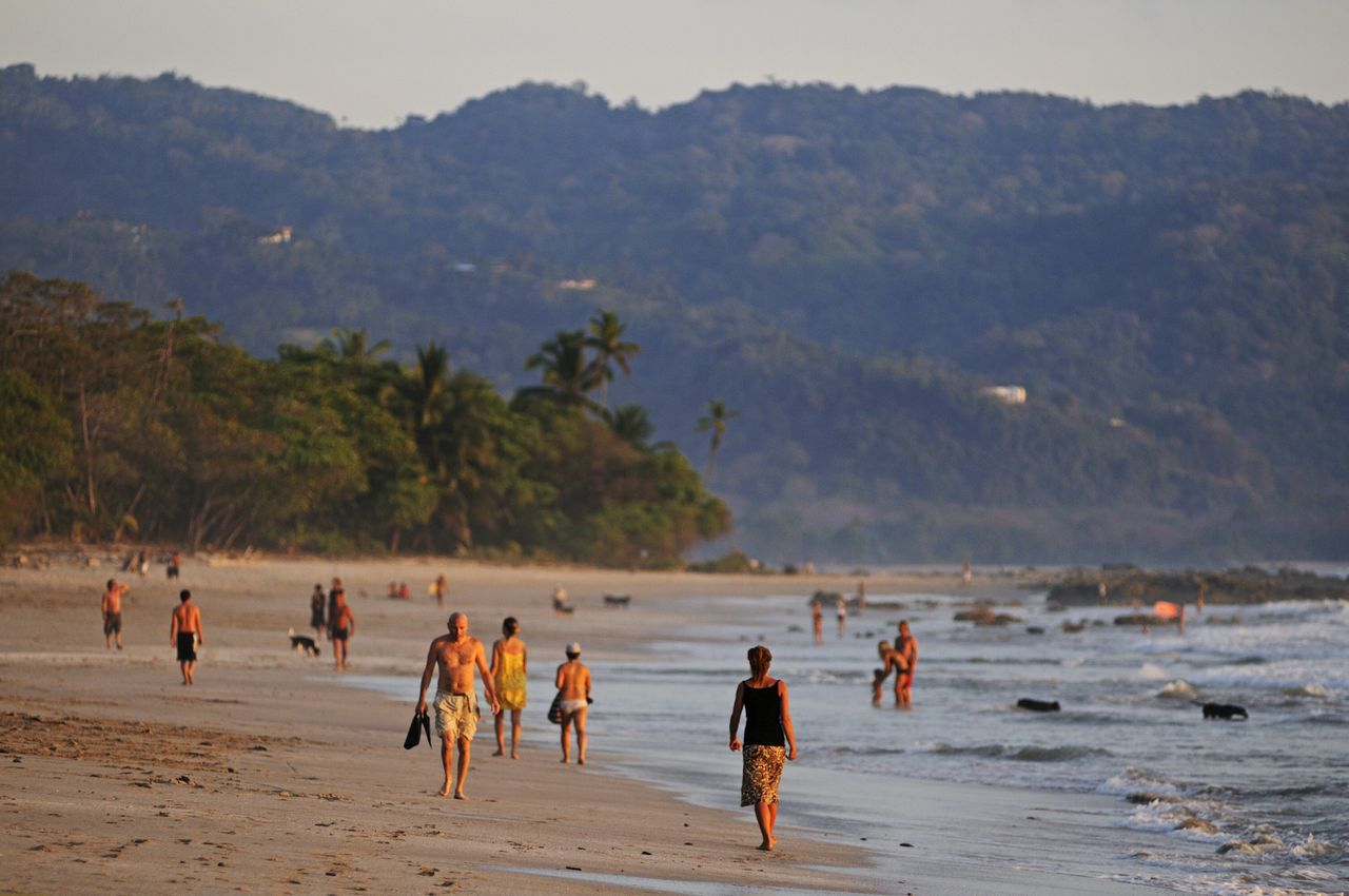 Playa Santa Teresa, a beach on the Nicoya Peninsula inCosta Rica. The people here live some of the longest lives in the world. Credit: Getty Images