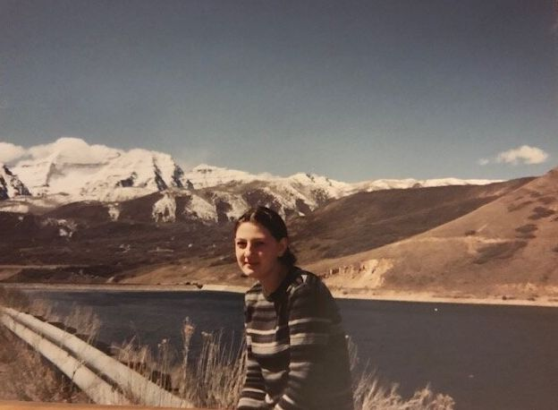 """Juli-Ann Aaron during a rare visit with her mom, Isobel, while enrolled at Provo Canyon School in Provo, Utah in 1999. """"Did I (ever) want to run,"""" Aaron said."""
