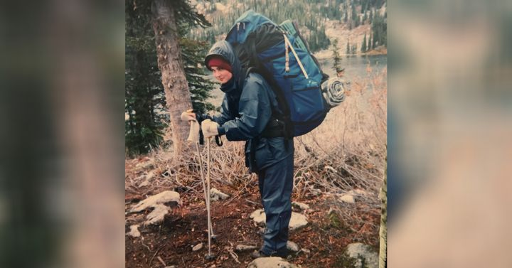 """Jenny Talbot was forced on a two-week hike through the mountains in the winter of 2005, as part of Ascent. """"My backpack was so heavy if I stood up straight, I would fall over,"""" Talbot said."""