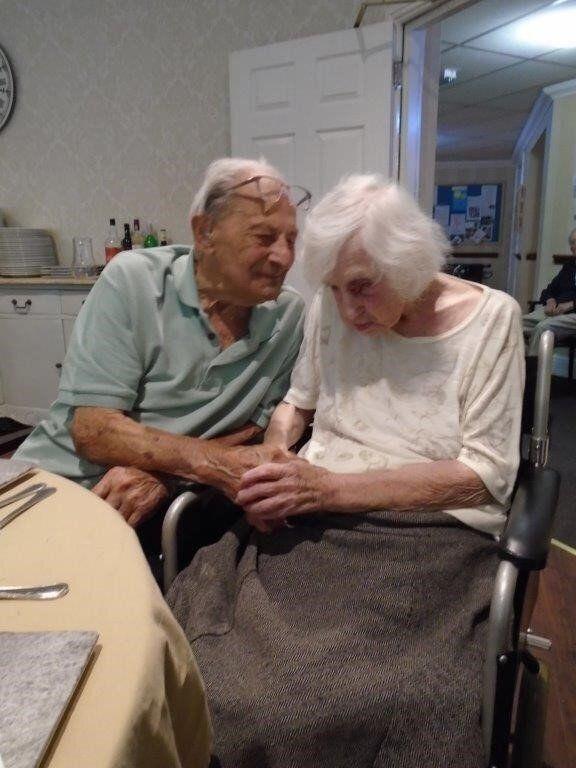 Tony and Beryl Greasley