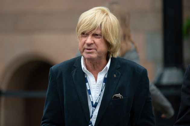 Michael Fabricant, MP for Lichfield, during the Conservative Party Conference at the Manchester Central Convention Complex, Manchester, in 2019