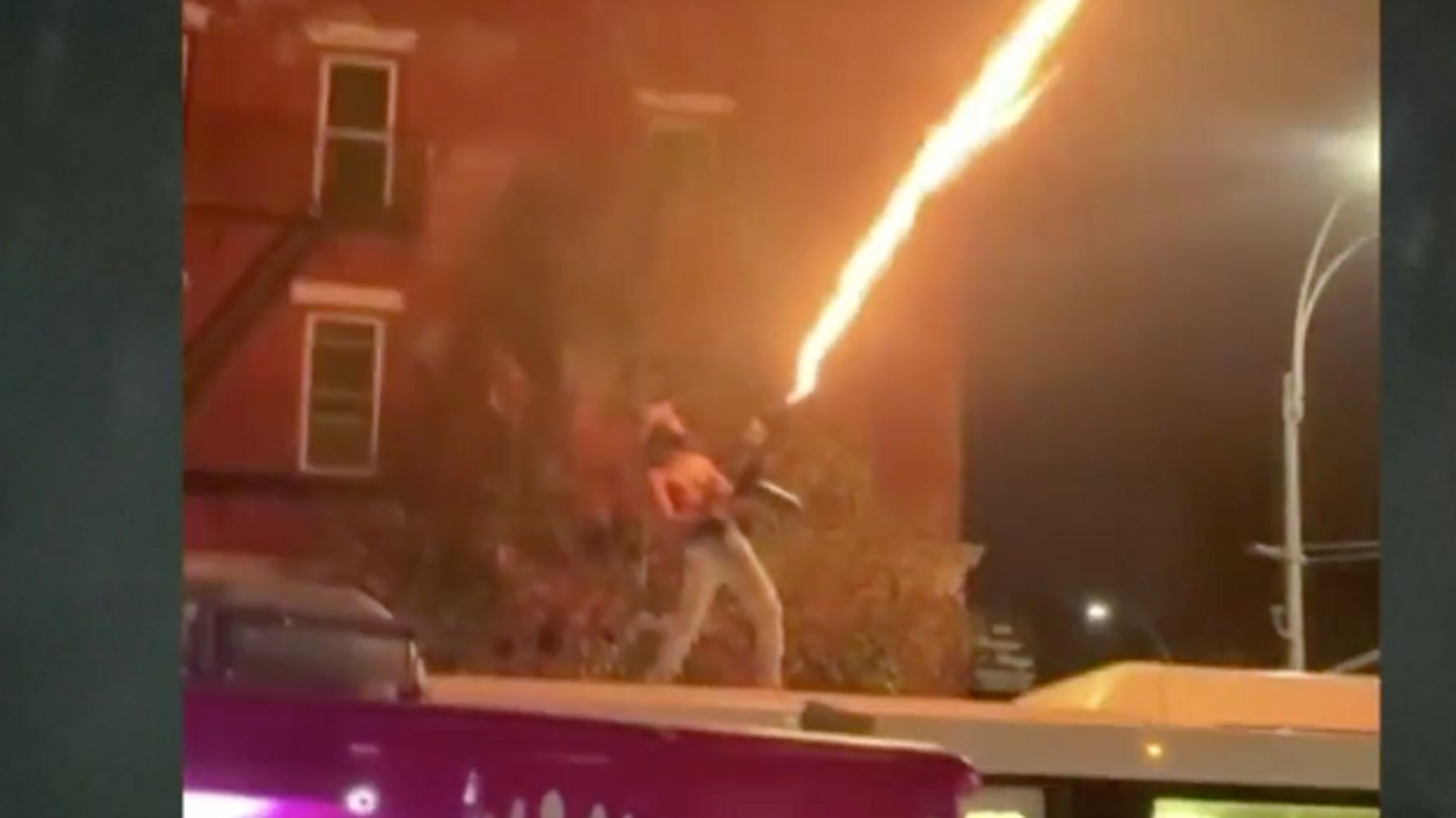 Man Ignites Flamethrower On Top Of Occupied NYC Bus, Cops Investigating