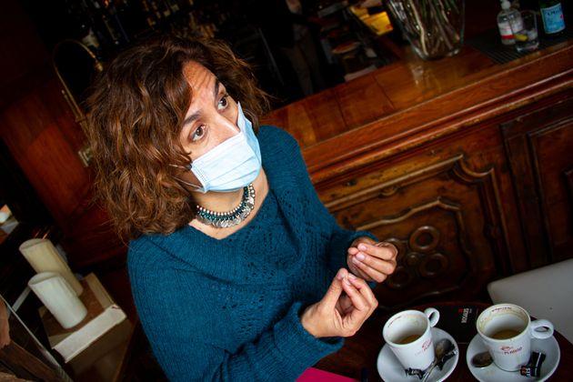 Irene Lozano, durante la