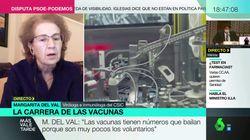La viróloga Margarita del Val ve por fin una buena noticia: dice que