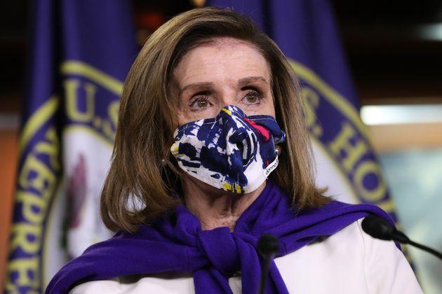 Nancy Pelosi, ici à Washington aux États-Unis, le 18 novembre