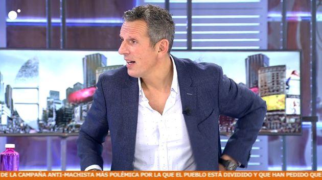 Joaquín Prat este miércoles en 'Cuatro al