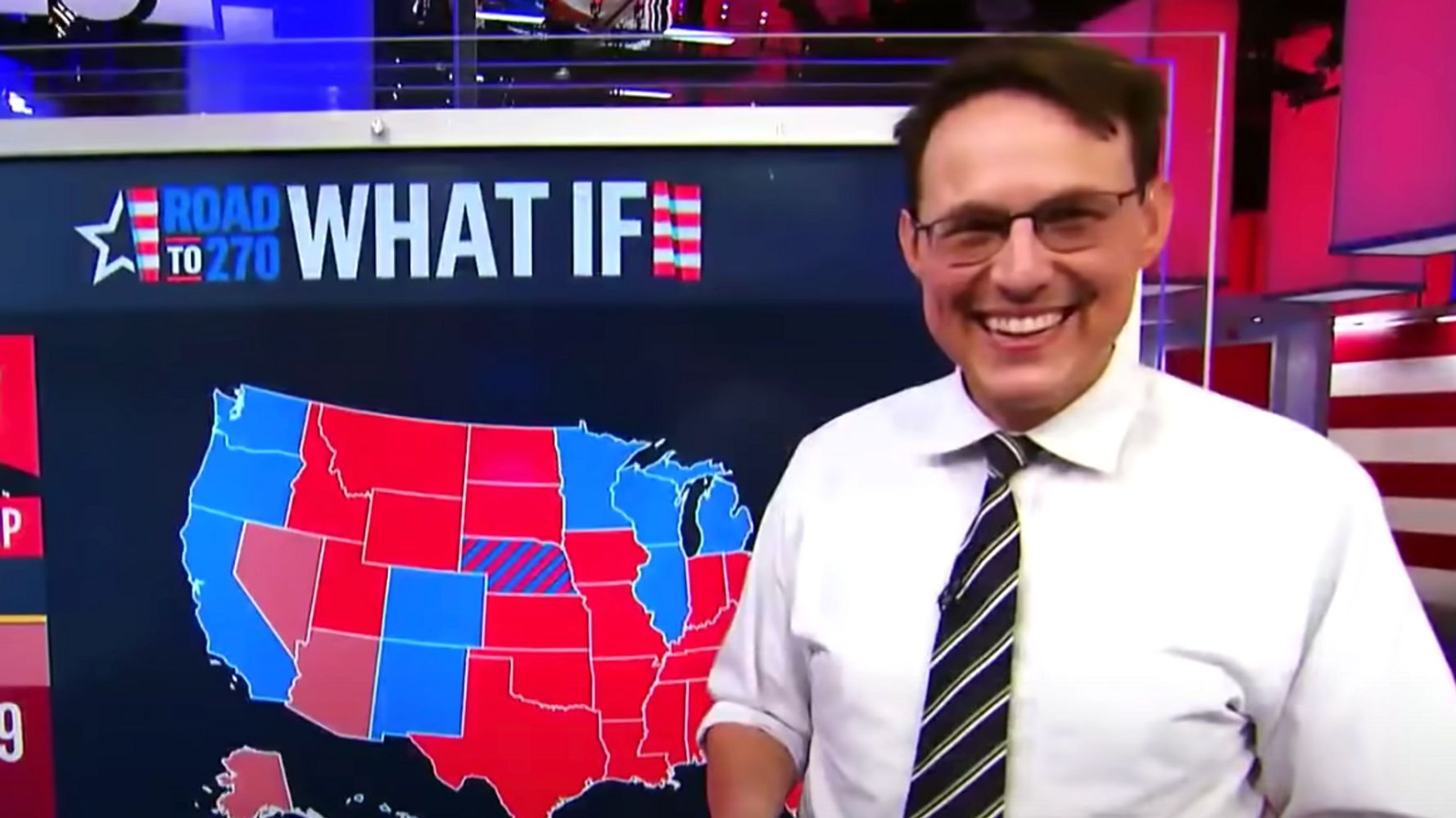 Steve Kornacki And His Khaki Slacks Land On People's 'Sexiest Men Alive' List