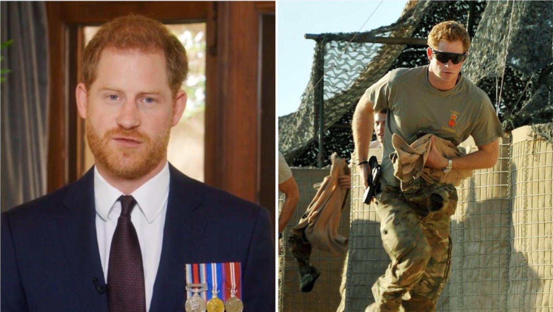 Принц Гарри рассказывает о том, как военные изменили его жизнь