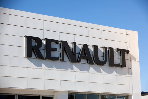 Antalya, Turkey. October 28th 2011. The roadside sign of Renault Motors. Renault founded on 1899 in France....