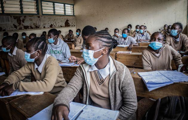 休校が明けたケニア・ナイロビの小学校(2020年11月)