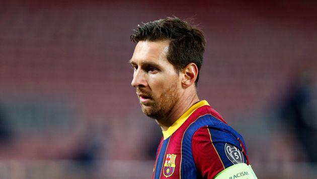 Leo Messi, en el encuentro ante el Dinamo de Kiev en el Camp Nou el 4 de noviembre de 2020 (AP Photo/Joan