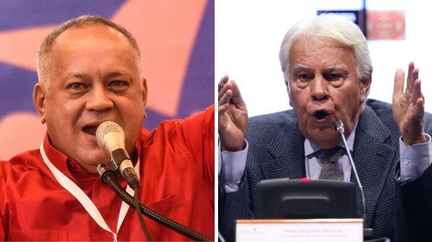 Diosdado Cabello y Felipe