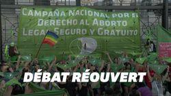 Les Argentines mobilisées à Buenos Aires pour le retour du droit à l'IVG au