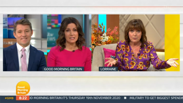 Lorraine Kelly Loses Her Cool Over Government's Rumoured Christmas Covid Plan Live On Air