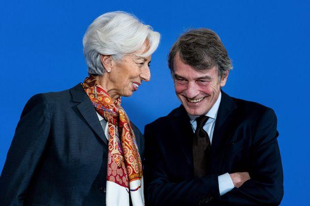 Anche Lagarde demolisce l'idea di Sassoli: no alla cancellazione del debito