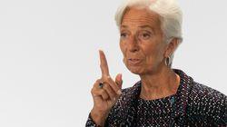 """Lagarde alerta: el fondo de recuperación es """"extremadamente"""