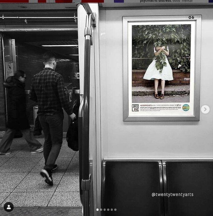 Αποψη αφίσας στο μετρό TTC του Τορόντο