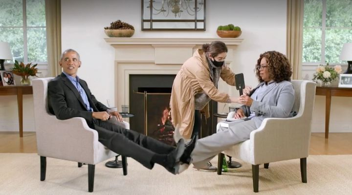 Barack Obama and Oprah Winfrey
