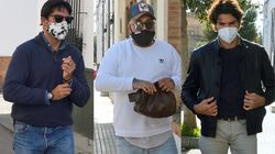 Kiko Rivera y sus hermanos Fran y Cayetano, duramente criticados por saltarse el
