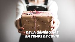 Pour Noël, des boîtes cadeaux sont conçues en confinement pour les plus
