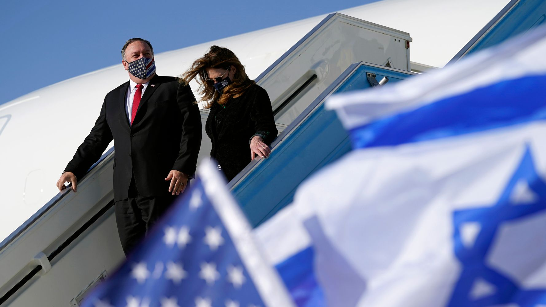 Pompeo Becomes First Top U.S. Diplomat To Visit An Israeli Settlement