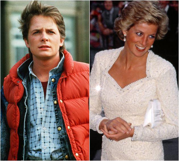 Michael J Fox and Princess
